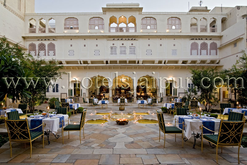 Hotel samode haveli jaipur tariff of samode haveli jaipur for Top design hotels india