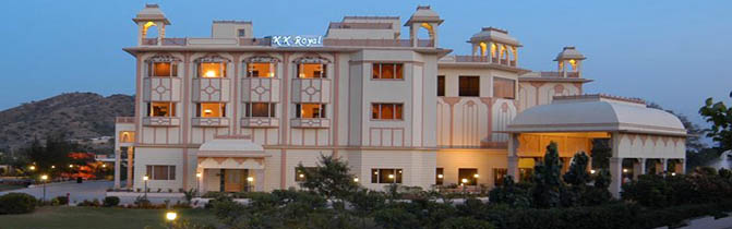 Hotel KK Royal Jaipur Rajasthan India